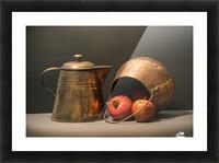 Copper Pots Pomegranate Apple Picture Frame print
