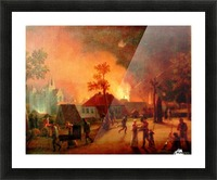 The Bombardment of Copenhagen Picture Frame print