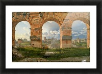 A View through Three of the North-Western Arches of the Third Storey of the Coliseum in Rome, 1815 Picture Frame print