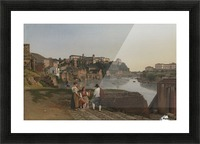 View of the Tiber near Ponte Rotto Picture Frame print