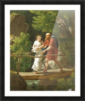Oedipus and Antigone Picture Frame print