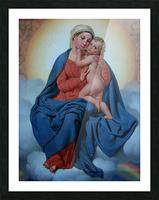 Maria med Jesusbarnet Picture Frame print
