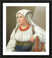 Una Ciociara Picture Frame print