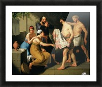 Joseph's brothers bring his coat to Jacob Picture Frame print