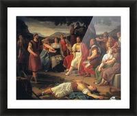 Baldr's Death Picture Frame print