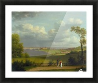 View north of Kronborg Castle Picture Frame print