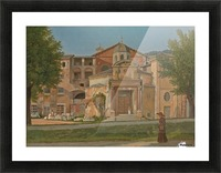 A Section of the Via Sacra, Rome Picture Frame print