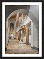 View of the Church of San Lorenzo fuori le Mura Picture Frame print
