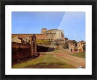 Rome, Porta Angelica and part of the Vatican, 1813 Picture Frame print