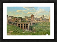 View of the Cloaca Maxima, Rome Picture Frame print
