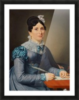 Portrait of Sarah Wolff Picture Frame print
