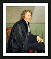 Portrait of Bertel Thorvaldsen Picture Frame print