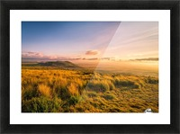 Golden Hour Picture Frame print