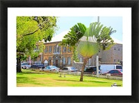 St Kitts Independence Square 3 Picture Frame print