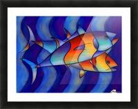 Cassanella - dream fish Picture Frame print