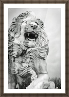 King of the Beast Picture Frame print