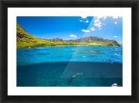 Makua Picture Frame print