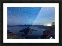 Perseid Over Crater Lake 8 11 2015 Picture Frame print