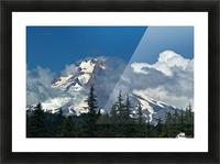 Clouded Peak-Mt Hood Picture Frame print