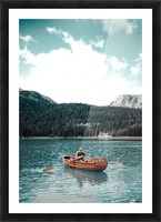 Lonely hour  Picture Frame print