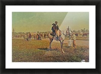 Visiting the fair Picture Frame print