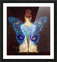 Elseminossa - butterfly beauty Picture Frame print