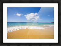USA, Hawaii Islands, Maui, Big Beach; Makena Picture Frame print