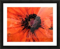 poppies will make you sleep Picture Frame print