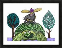 tortoise and hare Picture Frame print