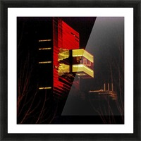 Night at the Guthrie Picture Frame print
