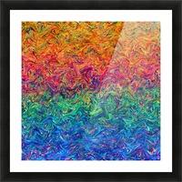 Fluid Colors G249 Picture Frame print