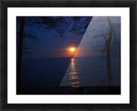 moon glow Picture Frame print