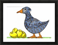 Goose and Golden Eggs Picture Frame print