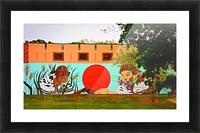 Beautiful Mural OKC Picture Frame print