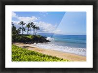 Hawaii, Maui, Wailea, Beautiful Ulua Beach. Picture Frame print