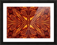 Fire Butterfly  Picture Frame print