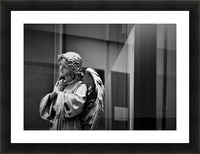 Angel in the Window Picture Frame print
