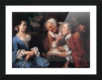 The sitting, 1754 Impression et Cadre photo