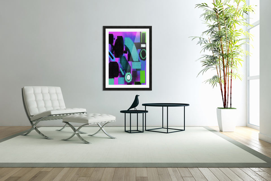 Shapes in Custom Picture Frame