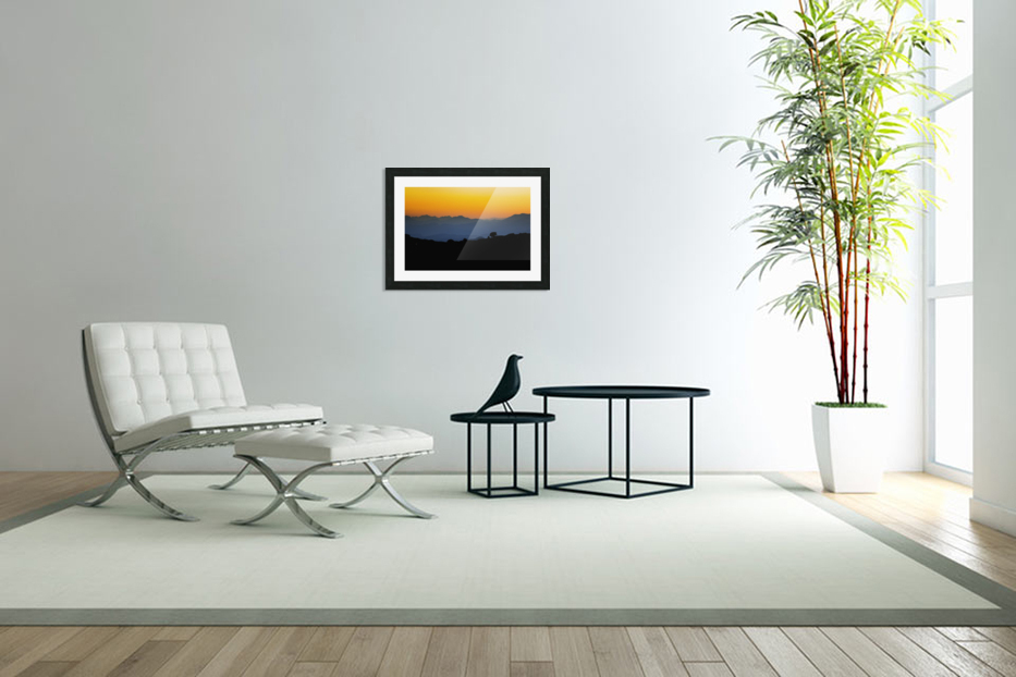Layer of dawn in Custom Picture Frame