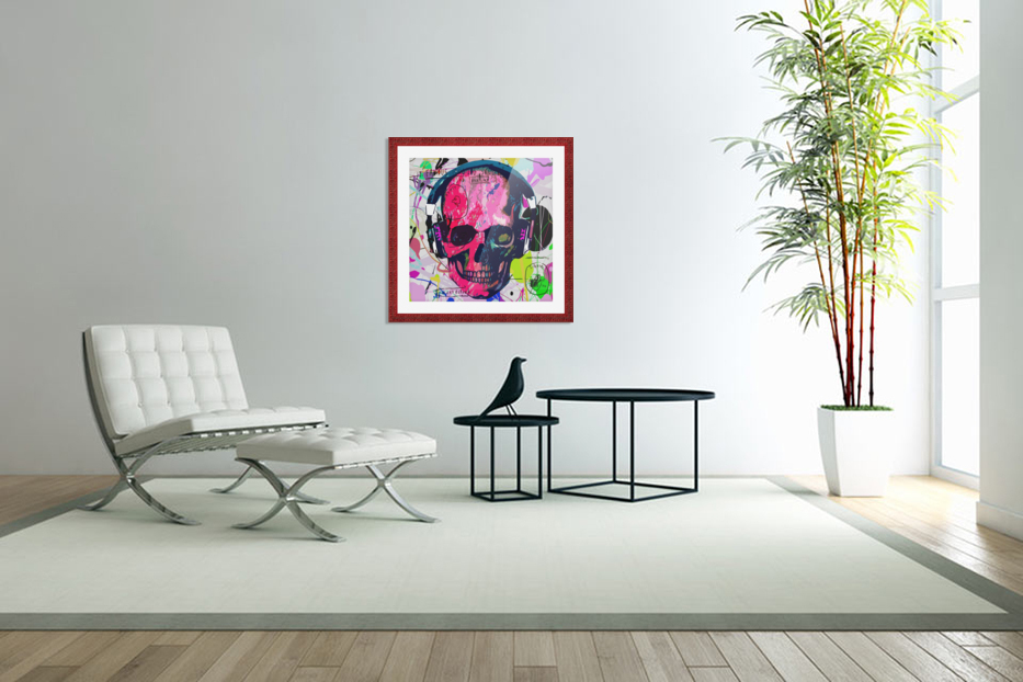 Music Anatomy in Custom Picture Frame