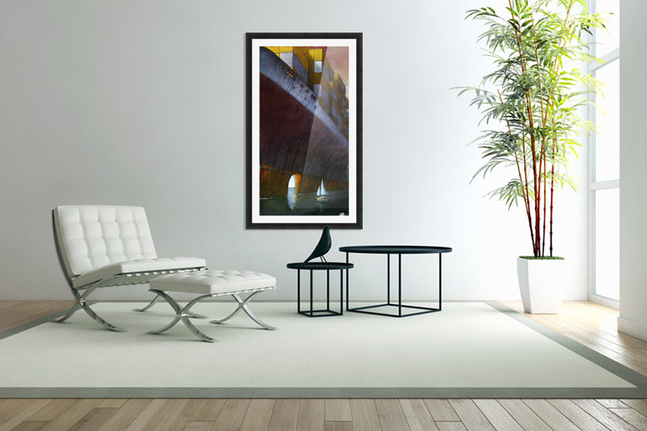 Freedom in Custom Picture Frame