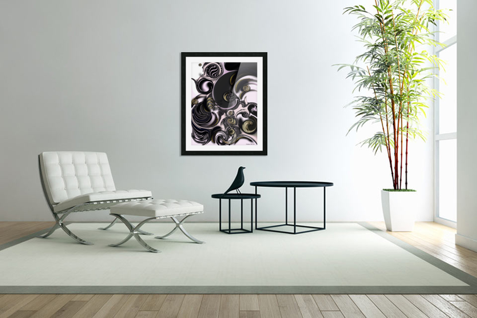 Reflecting Creation in Custom Picture Frame