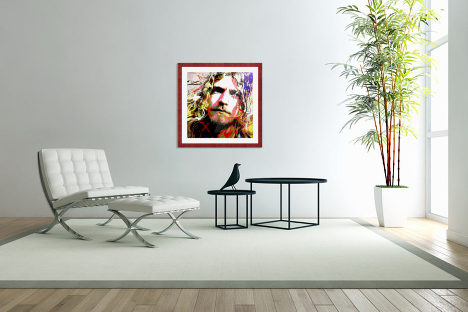 Plant in Custom Picture Frame