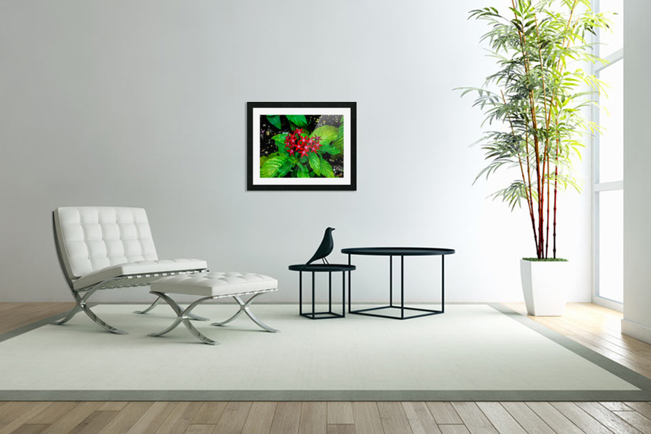 Beauty in the Flower in Custom Picture Frame