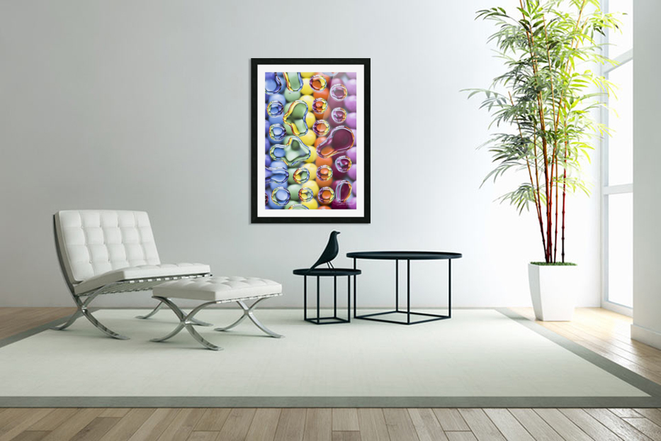 Smarties in Custom Picture Frame