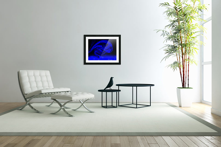 Wave Of Destraction in Custom Picture Frame