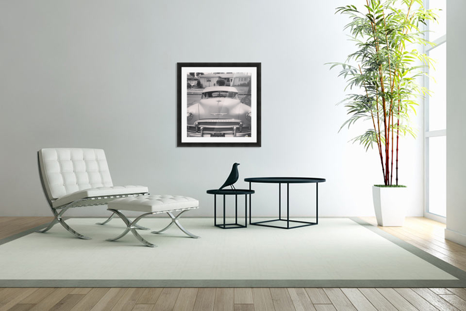 1950 Chevy  in Custom Picture Frame