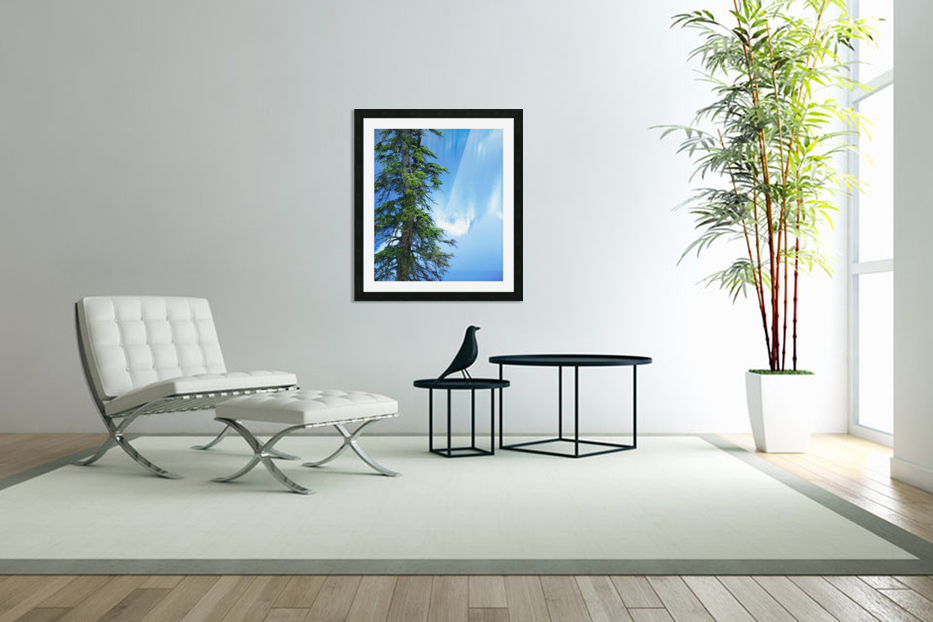 Natural order in Custom Picture Frame