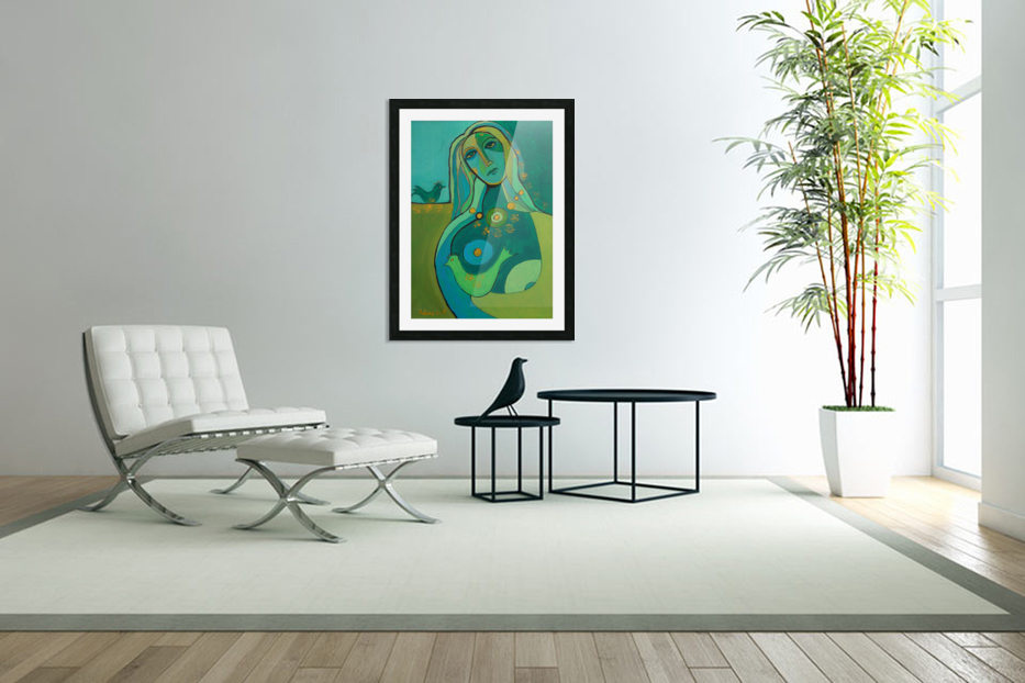 green in Custom Picture Frame